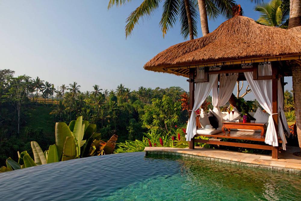 Kelionė į Indoneziją (egzotinės kelionės) Viceroy Bali Desktop Background