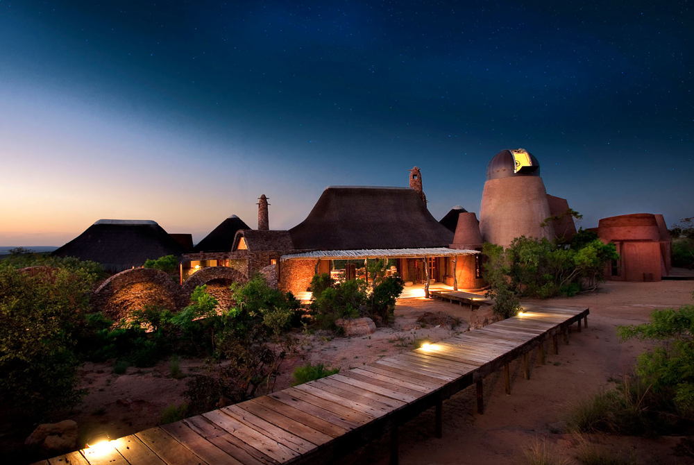 Safari Game Lodge Retreat South Africa Wide Desktop Background