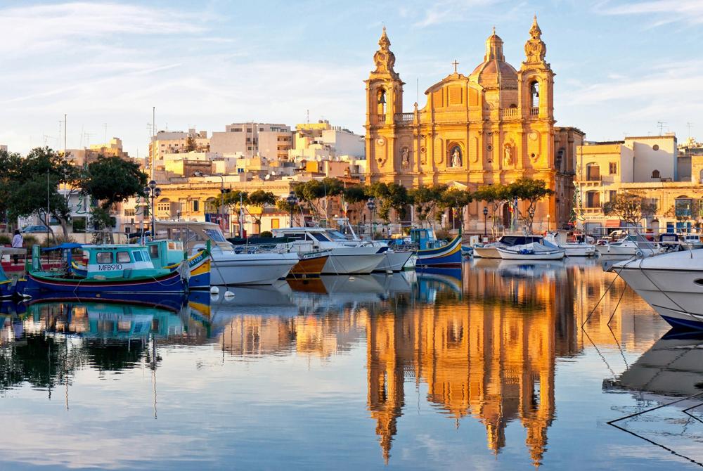 Valletta, Malta Desktop Background