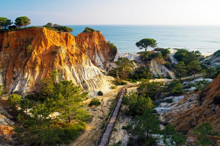 Cliffs at Sunset 0002