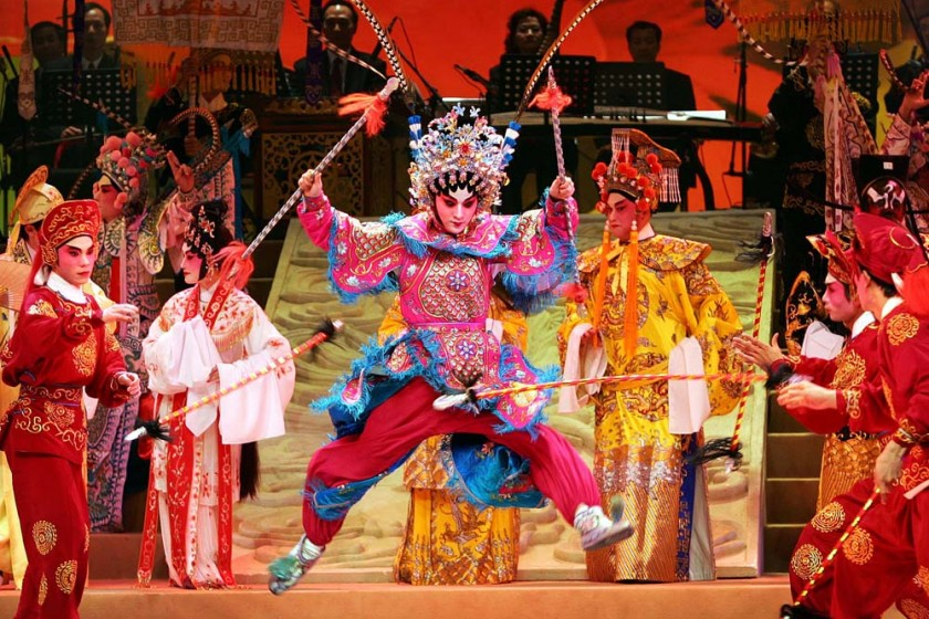 Guangdong Opera Performance