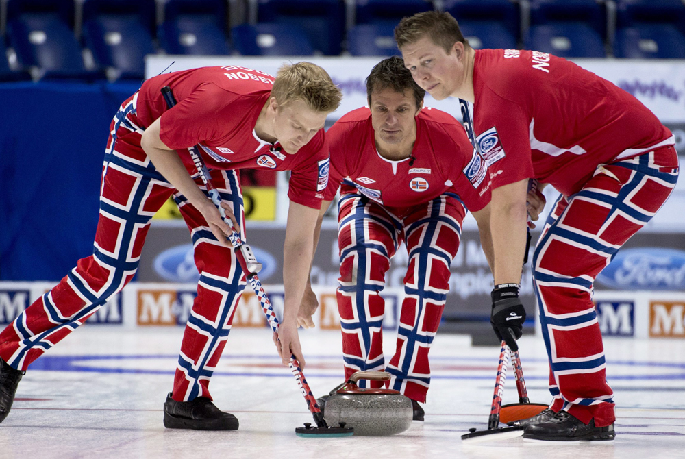 AP MENS CURLING WORLDS NORWAY SCOTLAND S CUR CAN